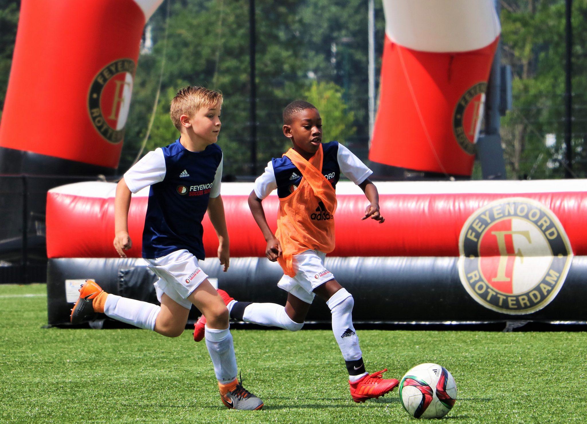Doe mee aan het Feyenoord Soccer Camp bij V.V. Terneuzen